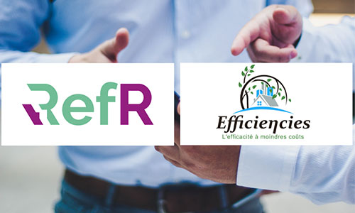 Efficiencies et RefR signent un partenariat