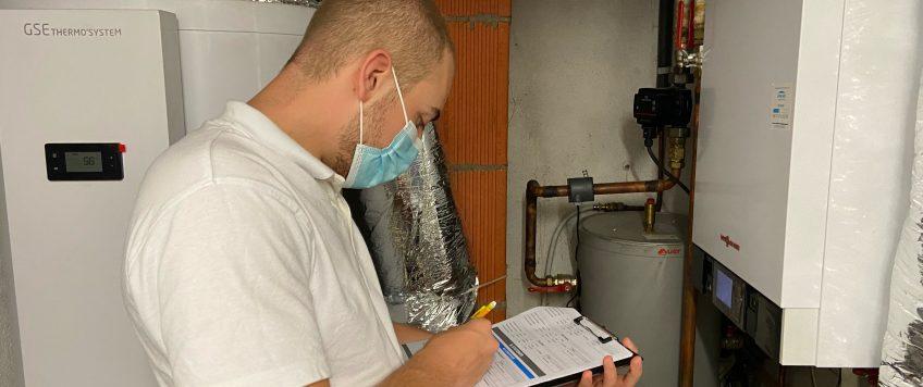 Comment se passe l'intervention d'un technicien Efficiencies à votre domicile?
